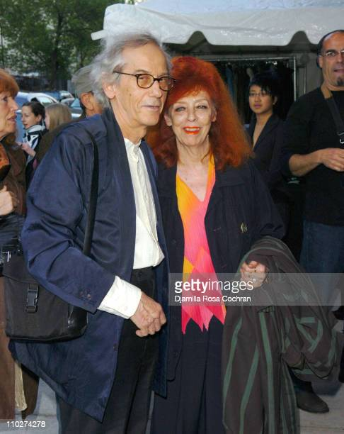 Christo and Jeanne Claude during Body Soul New York Celebrates NFAA 2006 Arts Winners at Baryshnikov Arts Center in New York City New York United...