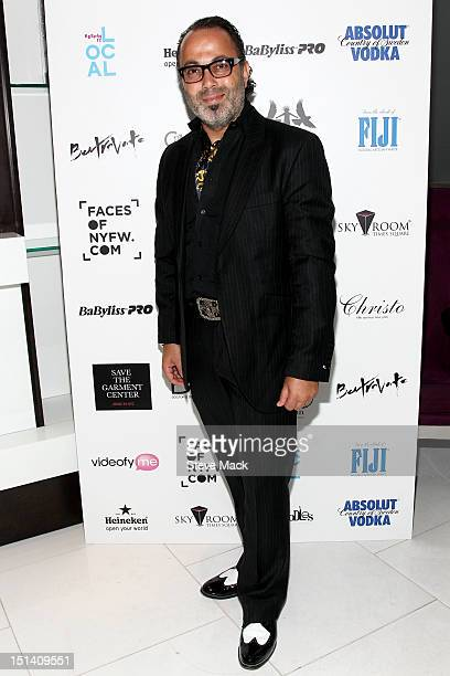 Christo attends the Caravan Stylist Studio during Fashion's Night Out at Sky Room on September 6 2012 in New York City