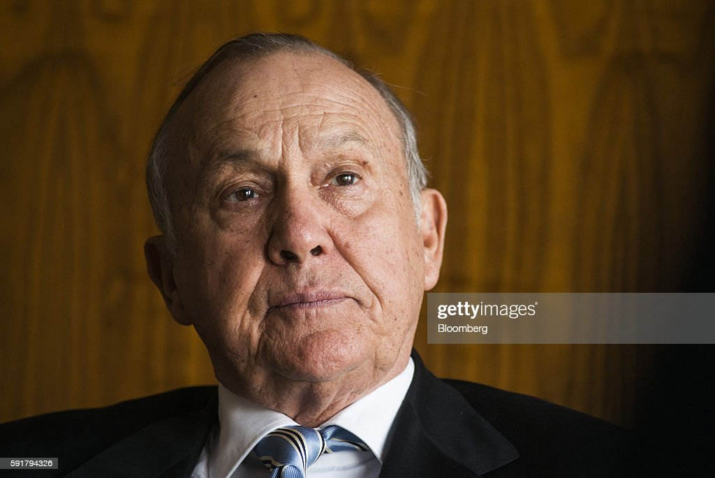 Christo Wiese, billionaire and chairman of Steinhoff Holdings NV, pauses during a Bloomberg Television interview at the Pepkor Holdings Pty Ltd. offices in Cape Town, South Africa, on Wednesday, Aug. 17, 2016. Steinhoff Holdings NV isn't done with deals yet and has the potential to double its market value over the next five years, according to Wiese, the chairman and largest shareholder of the acquisition-hungry South African retailer. Photographer: Waldo Swiegers/Bloomberg via Getty Images