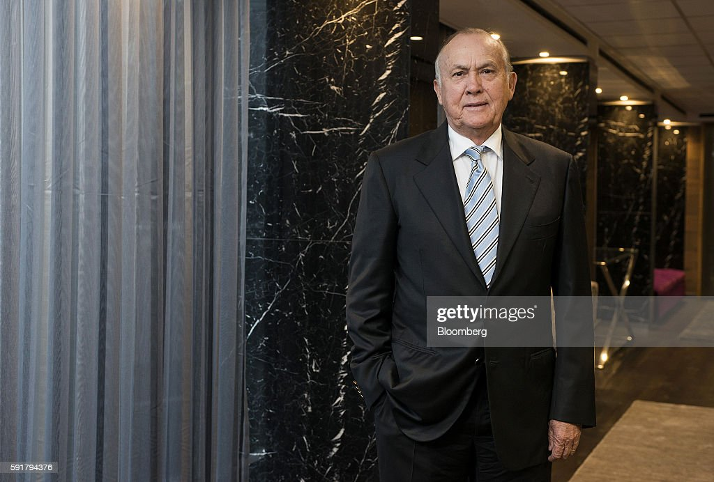 Christo Wiese, billionaire and chairman of Steinhoff Holdings NV, poses for a photograph following a Bloomberg Television interview at the Pepkor Holdings Pty Ltd. offices in Cape Town, South Africa, on Wednesday, Aug. 17, 2016. Steinhoff Holdings NV isn't done with deals yet and has the potential to double its market value over the next five years, according to Wiese, the chairman and largest shareholder of the acquisition-hungry South African retailer. Photographer: Waldo Swiegers/Bloomberg via Getty Images