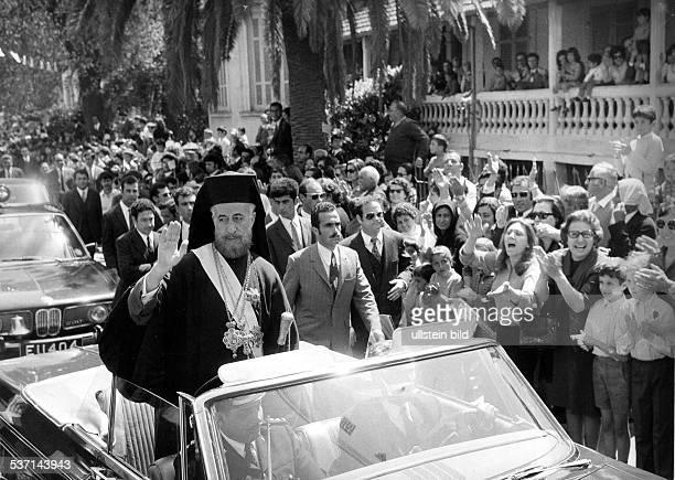 ChristodoulosMakarios III Archbishop of CyprusMakarios III Erzbischof von Zypern Theologe Politiker Zypern Erzbischof und Staatspräsident nach der...