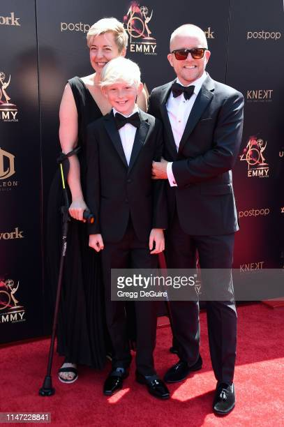 Christof Bove attends the 46th annual Daytime Emmy Awards at Pasadena Civic Center on May 05 2019 in Pasadena California