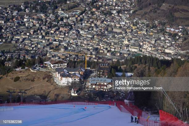Christof Innerhofer of Italy competes during the Audi FIS Alpine Ski World Cup Men's Downhill on December 28 2018 in Bormio Italy