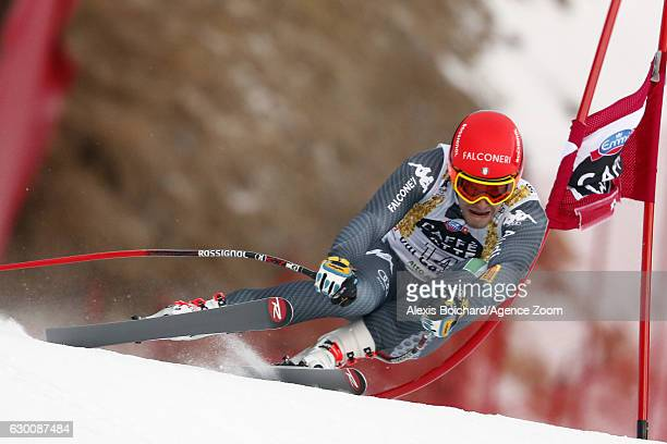Christof Innerhofer of Italy competes during the Audi FIS Alpine Ski World Cup Men's SuperG on December 16 2016 in Val Gardena Italy