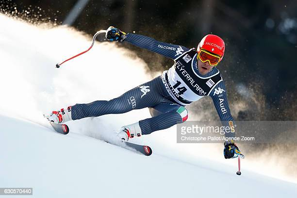Christof Innerhofer of Italy competes during the Audi FIS Alpine Ski World Cup Men's Super Giant on December 27 2016 in Santa Caterina Italy