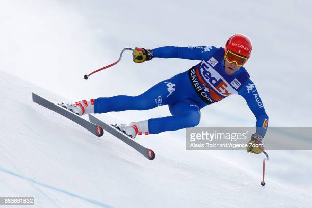 Christof Innerhofer of Italy competes during the Audi FIS Alpine Ski World Cup Men's Super G on December 1 2017 in Beaver Creek Colorado