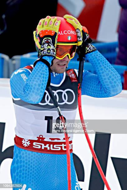 Christof Innerhofer of Italy competes during the FIS World Ski Championships Men's Super G on February 6 2019 in Are Sweden