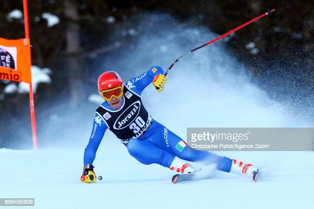 Christof Innerhofer of Italy in action during the Audi FIS Alpine Ski World Cup Men's Combined on December 29 2017 in Bormio Italy