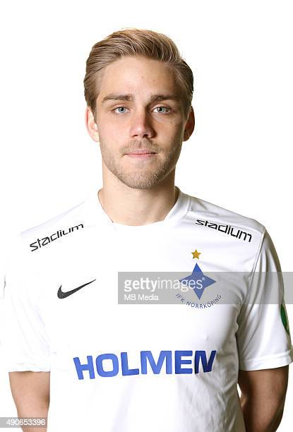 Christoffer Nyman of IFK Norrkoping poses during a portrait session on Februray 25 2015 in NorrkopingSweden