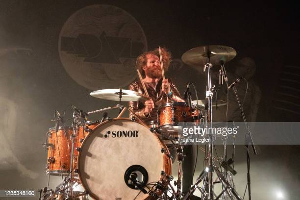 September 18: Christoph Bartelt of Kadavar performs live on stage during day 2 of Pure & Crafted Festival in Berlin on September 18, 2021 in Berlin,...