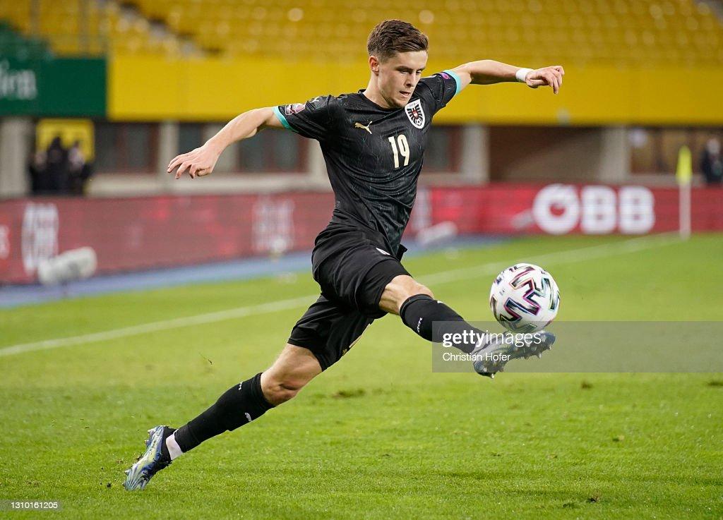Austria v Denmark - FIFA World Cup 2022 Qatar Qualifier : News Photo
