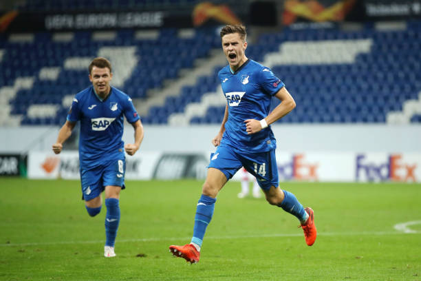DEU: TSG Hoffenheim v Crvena Zvezda: Group L - UEFA Europa League