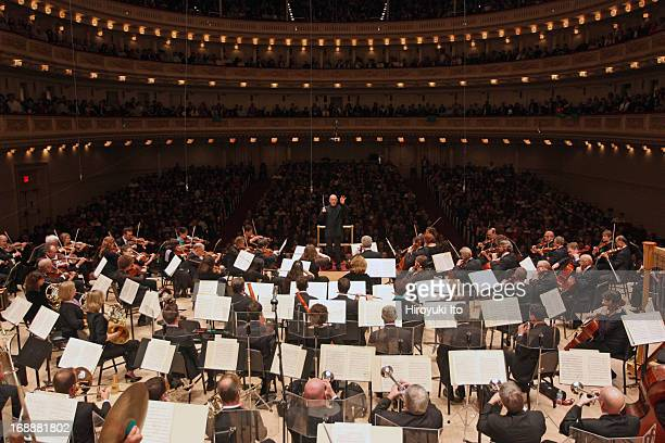 Christoph Eschenbach leading the National Symphony Orchestra as part of Spring for Music festival at Carnegie Hall on Saturday night May 11 2013This...