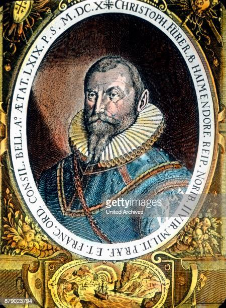 Christoph FŸrer of Haimendorf from one of the oldest patrician families of Nuremberg Franconia Bavaria