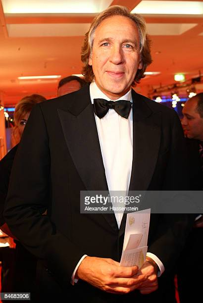 Christoph Gottschalk arrives at the 2009 Sports Gala 'Ball des Sports' at the RheinMain Hall on February 7 2009 in Wiesbaden Germany