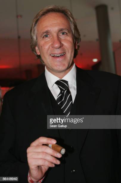 Christoph Gottschalk attends the after party at the Ein Herz fuer Kinder television charity gala at the Axel Springer Hall December 17 2005 in Berlin...