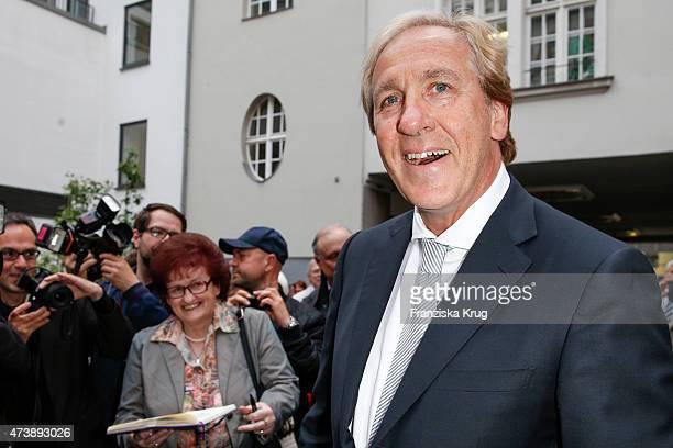 Christoph Gottschalk attends the 'Herbstblond - Gottschalks grosse Geburtstagsparty' TV Show on May 18, 2015 in Berlin, Germany.
