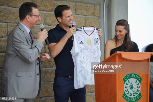 Christoph Huber head of the Latin America team at Kindermissionswerk Die Sternsinger Oliver Bierhoff team manager of the German national team and...