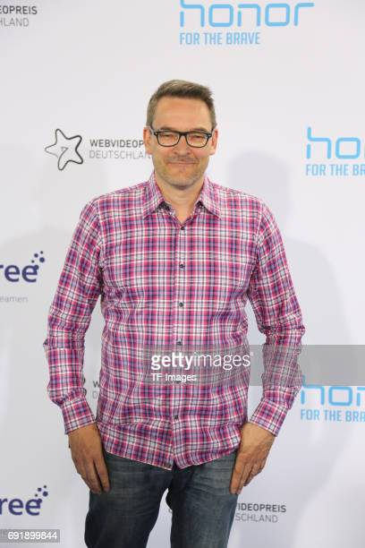 Christoph Krachten attends the Webvideopreis Deutschland 2017 at ISS Dome on June 1 2017 in Duesseldorf Germany