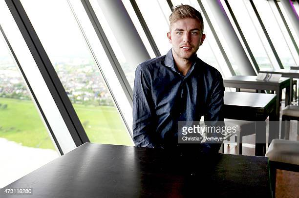 Christoph Kramer during a Portrait Session at Rheinturm Duesseldorf on May 07 2015 in Duesseldorf Germany