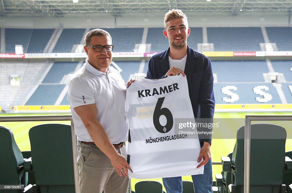 Borussia Moenchengladbach Unveils New Signing Christoph Kramer