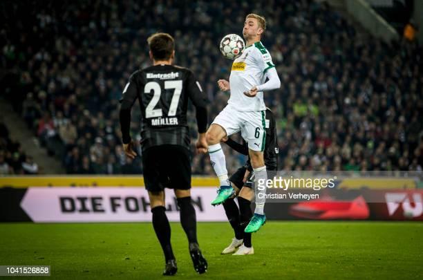 Christoph Kramer of Borussia Moenchengladbach in action during the Bundesliga match between Borussia Moenchengladbach and Eintracht Frankfurt at...