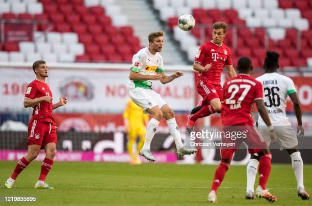 Christoph Kramer of Borussia Moenchengladbach in action during the Bundesliga match between FC Bayern Muenchen and Borussia Moenchengladbach at...