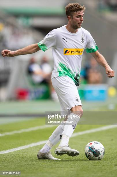 Christoph Kramer of Borussia Moenchengladbach in action during the Bundesliga match between Borussia Moenchengladbach and Hertha BSC at BorussiaPark...