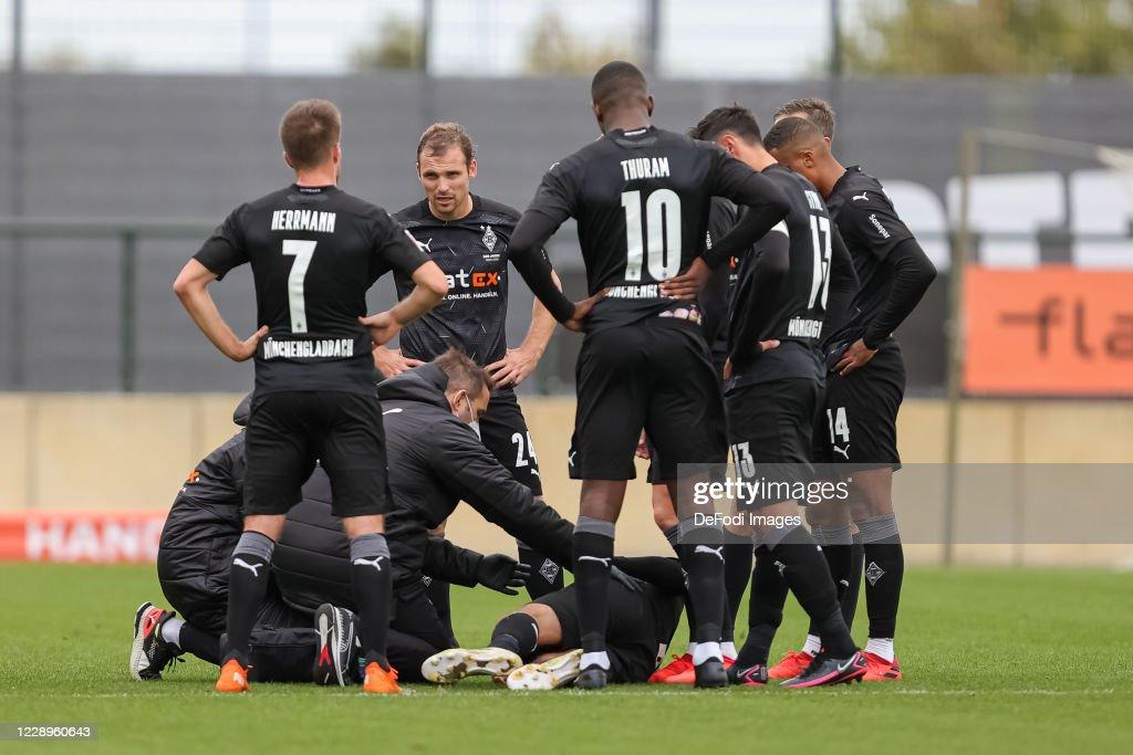 Borussia Moenchengladbach v Fortuna Duesseldorf - Test Match : Nachrichtenfoto