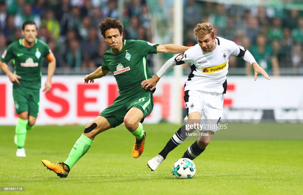 SV Werder Bremen v Borussia Moenchengladbach - Bundesliga : Nachrichtenfoto