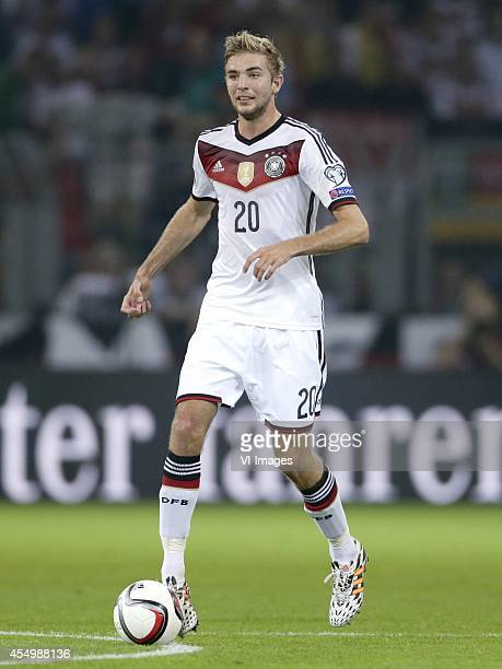 Christoph Kramer of Germany during the EURO 2016 qualifying match between Germany and Scotland on September 7 2014 at the Signal Iduna stadium in...