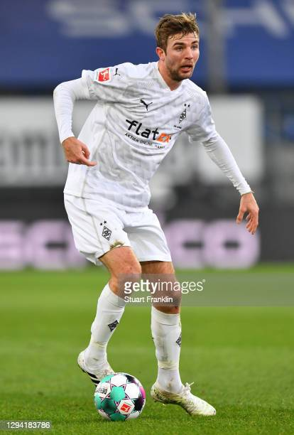 Christoph Kramer of Gladbach in action during the Bundesliga match between DSC Arminia Bielefeld and Borussia Moenchengladbach at Schueco Arena on...