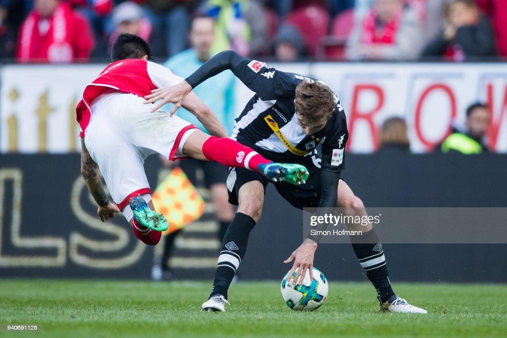 1. FSV Mainz 05 v Borussia Moenchengladbach - Bundesliga : Nachrichtenfoto