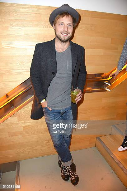 Christoph Letkowski attends the PantaFlix Party on February 17, 2016 in Berlin, Germany.
