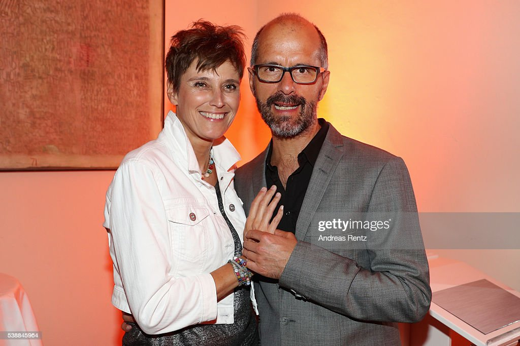 Christoph Maria Herbst And His Wife Gisi Herbst Attend The Film Und
