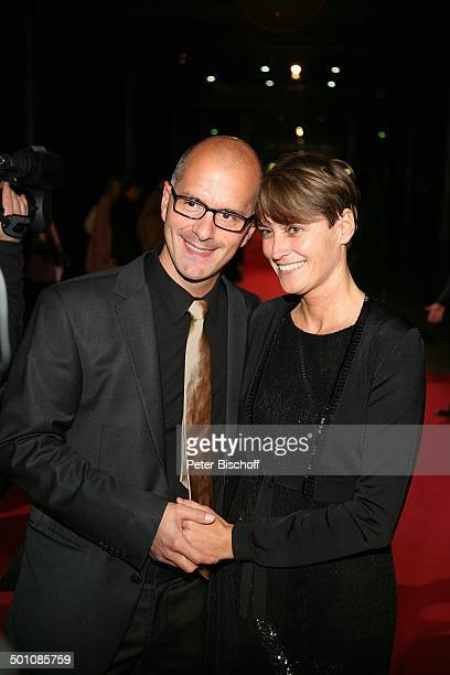 """Christoph Maria Herbst , Freundin Gisi, ; RTL-Gala, 14. Verleihung """"Deutscher Comedy Preis"""", """"Coloneum"""", Köln, Nordrhein-Westfalen, Deutschland,..."""