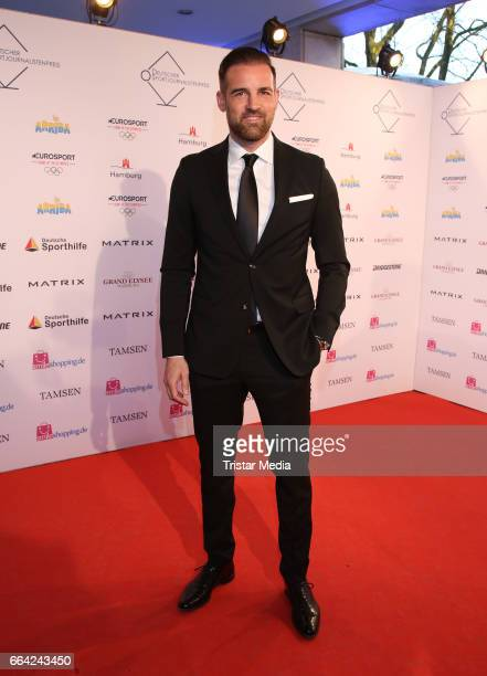 Christoph Metzelder attends the German Sports Journalism Award 2017 at Grand Elysee Hotel on April 03, 2017 in Hamburg, Germany.