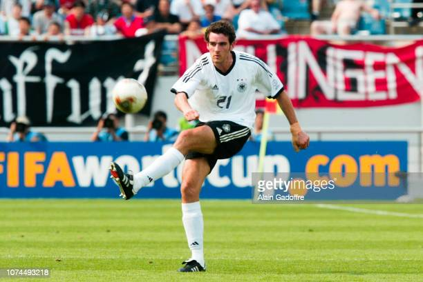 Christoph METZELDER during the FIFA World Cup match between Germany and Paraguay on June 15 2002 in Jeju Stadium South Korea