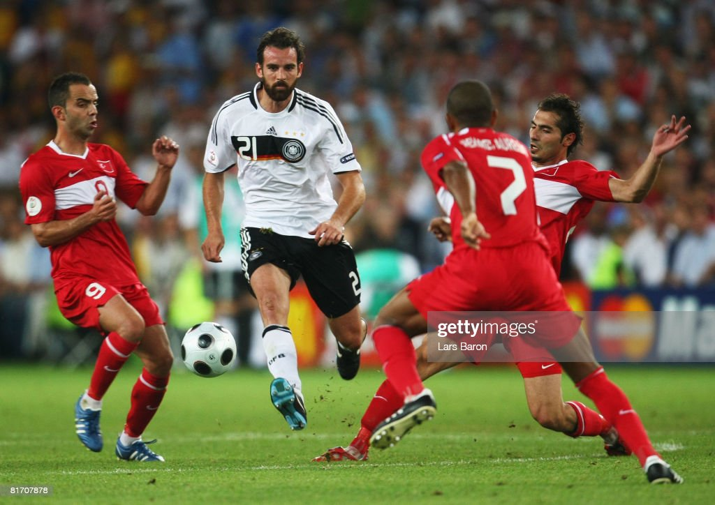Germany v Turkey - Euro 2008 Semi Final : News Photo