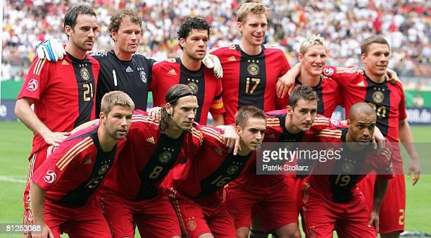 Christoph MetzelderJens Lehmann Michael Ballack Per Mertesacker Bastian Schweinsteiger Lukas Podolski Thomas Hitzlsperger Torsten Frings Philipp Lahm...