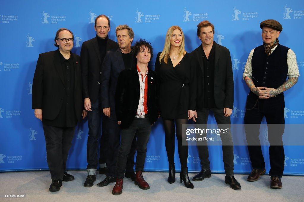 """DEU: """"You Only Live Once - Die Toten Hosen On Tour"""" Photocall - 69th Berlinale International Film Festival"""