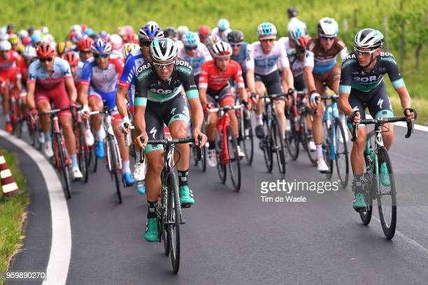 Christoph Pfingsten of Germany and Team BoraHansgrohe / Andreas Schillinger of Germany and Team BoraHansgrohe / during the 101st Tour of Italy 2018...