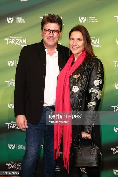 Christoph Walentowski attends the anniversary celebration of the musical 'Tarzan at Stage Metronom Theater on November 5 2017 in Oberhausen Germany