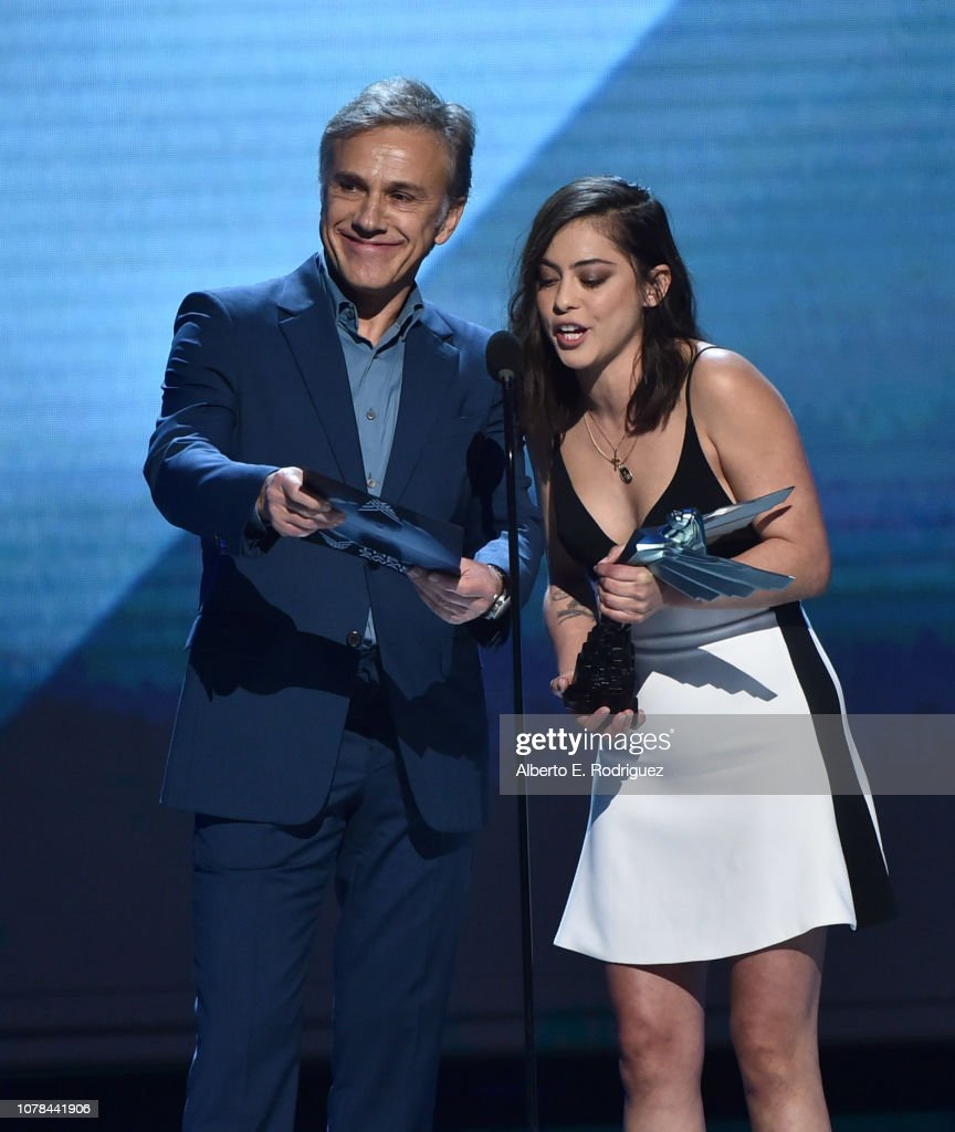 Christoph Waltz and Rosa Salazar attend The 2018 Game Awards at ...