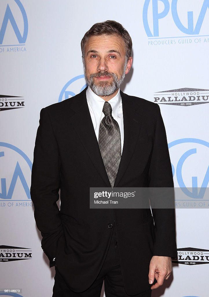 Christoph Waltz arrives to the 21st Annual PGA Awards held at the Hollywood Palladium on January 24, 2010 in Hollywood, California.