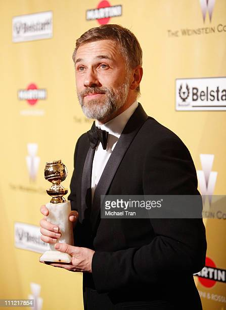Christoph Waltz arrives to The Weinstein Company 2010 Golden Globes Afterparty held at Bar 210 inside The Beverly Hilton Hotel on January 17 2010 in...