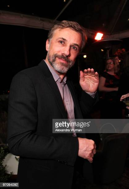 Christoph Waltz at Entertainment Weekly's Party to Celebrate the Best Director Oscar Nominees held at Chateau Marmont on February 25, 2010 in Los...