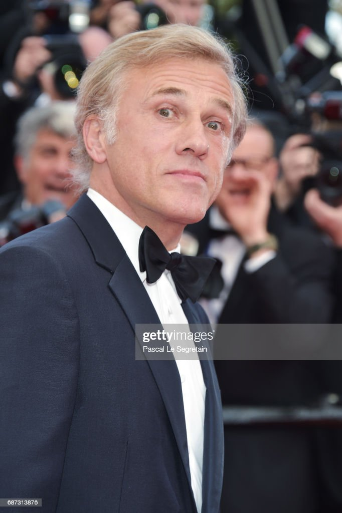 Christoph Waltz attends the 70th Anniversary of the 70th annual Cannes Film Festival at Palais des Festivals on May 23, 2017 in Cannes, France.