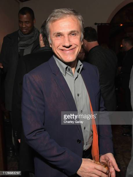 Christoph Waltz attends the Cadillac Oscar Week Celebration at Chateau Marmont on February 21 2019 in Los Angeles California