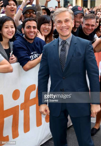Christoph Waltz attends the Downsizing premiere during the 2017 Toronto International Film Festival at The Elgin on September 11 2017 in Toronto...